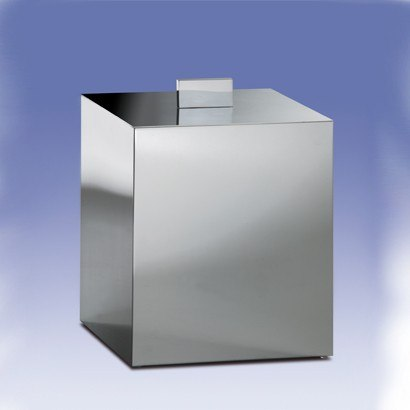 WINDISCH 89139 BATH BINS SQUARE BATHROOM WASTE BIN