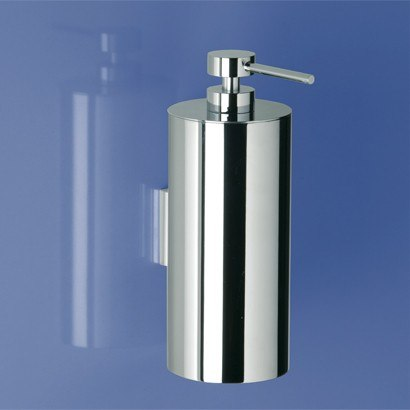 WINDISCH 90123 ADDITION FREE STANDING ROUNDED WALL MOUNTED BRASS SOAP DISPENSER