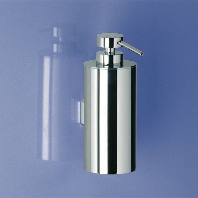 WINDISCH 90126 ADDITION FREE STANDING MODERN WALL MOUNTED ROUNDED BRASS SOAP DISPENSER