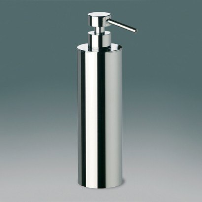WINDISCH 90415 ADDITION FREE STANDING TALL ROUNDED BRASS SOAP DISPENSER