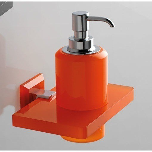 TOSCANALUCE G323 GRIP PLEXIGLASS SOAP DISPENSER WITH PLEXIGLASS WALL MOUNT