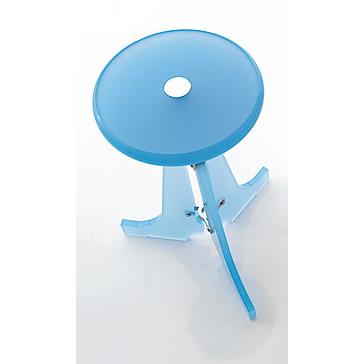 Toscanaluce K128 Complementi Plexiglass Round Bathroom Stool