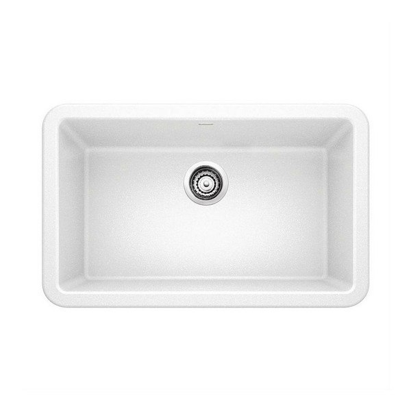 Blanco 401734 Ikon Granite 30 Inch Kitchen Sink in White