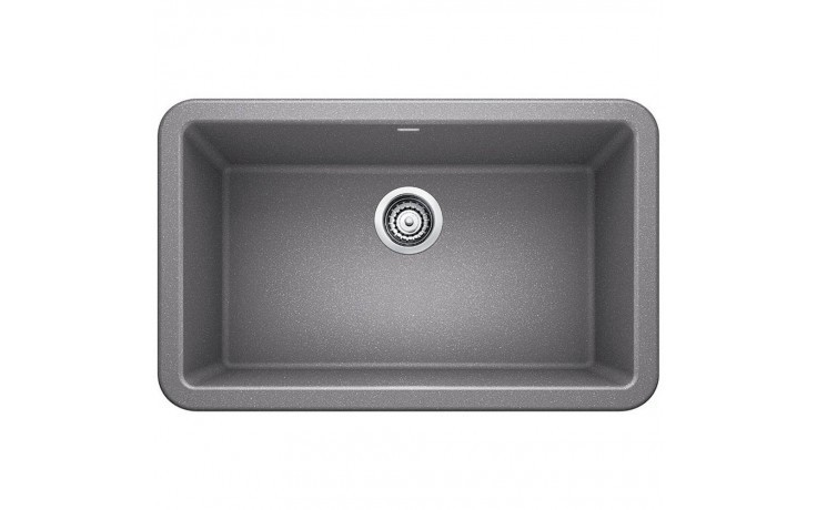 Blanco 401778 Ikon Granite 30 Inch Kitchen Sink in Metallic Gray
