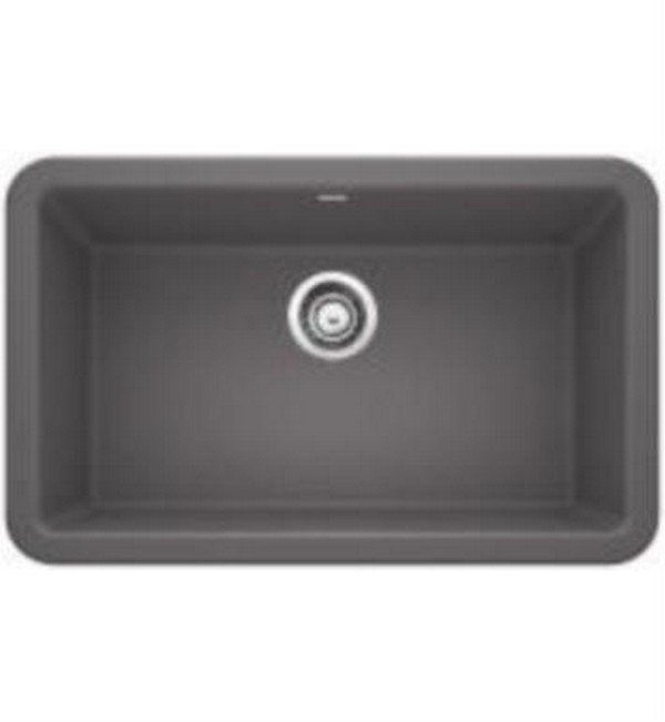 Blanco 401779 Ikon Granite 30 Inch Kitchen Sink in Cinder