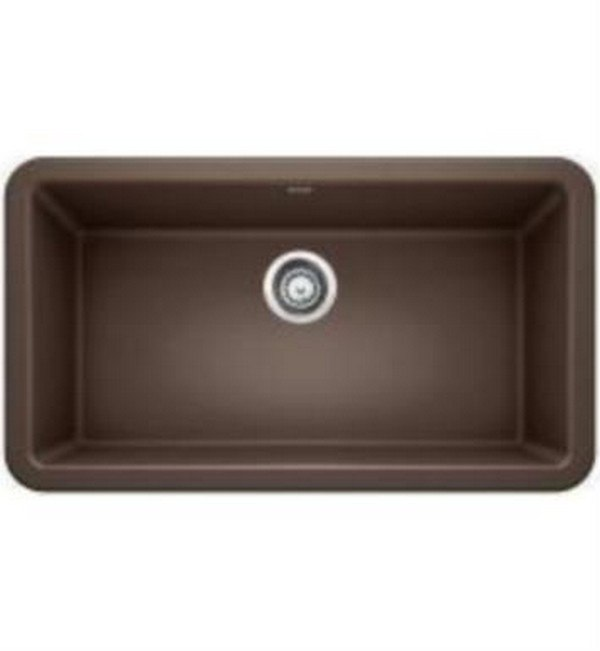 Blanco 401896 Ikon 33 Inch Apron Front Kitchen Sink in Cafe Brown