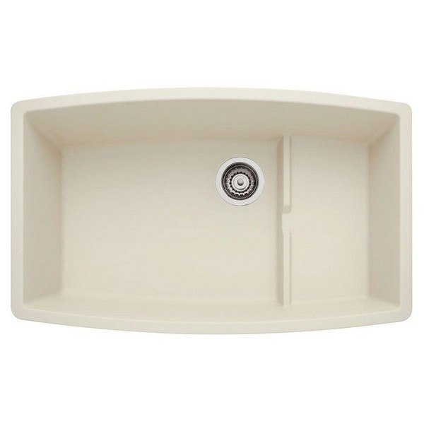 Blanco 440065 Performa Granite 32 Inch Kitchen Sink in Biscuit