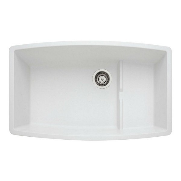 Blanco 440066 Performa Granite 32 Inch Kitchen Sink in White