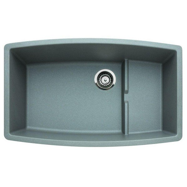 Blanco 440067 Performa Granite 32 Inch Kitchen Sink in Metallic Gray