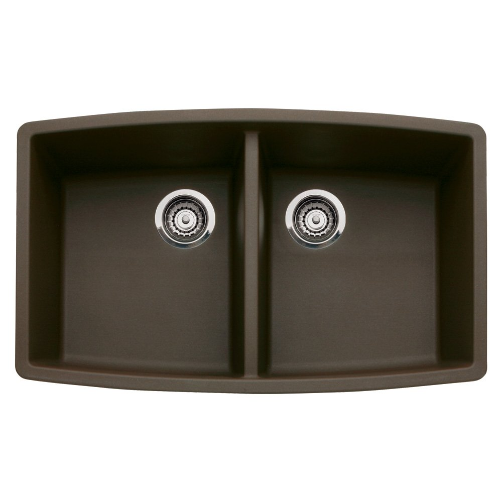 Blanco 440068 Performa Granite 33 Inch Kitchen Sink In Cafe Brown