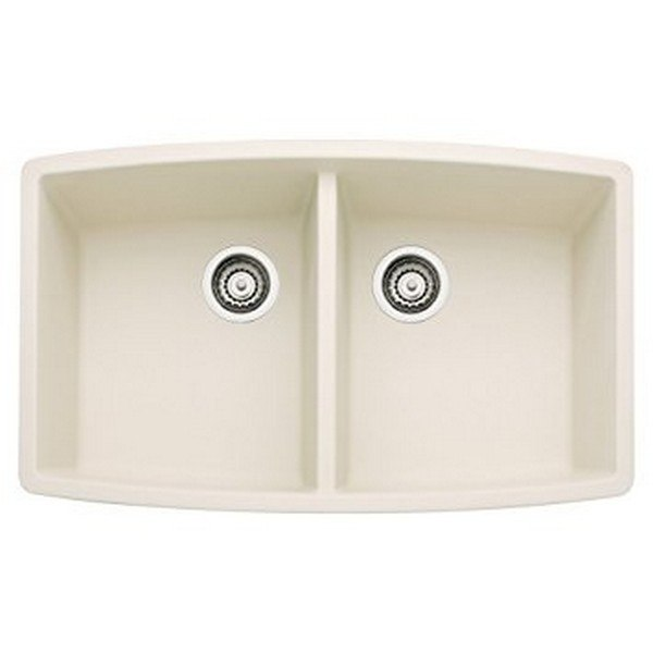 Blanco 440070 Performa Granite 33 Inch Kitchen Sink in Biscuit