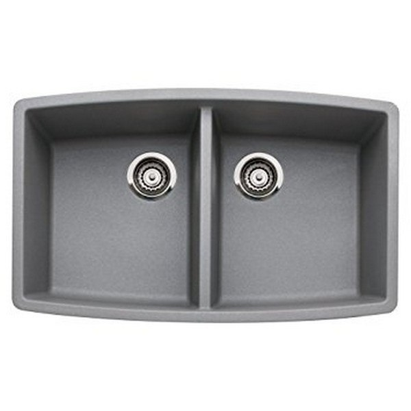 Blanco 440072 Performa Granite 33 Inch Kitchen Sink in Metallic Gray
