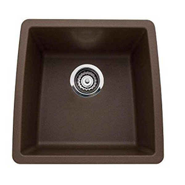 Blanco 440078 Performa Granite 17 Inch Kitchen Sink in Cafe Brown