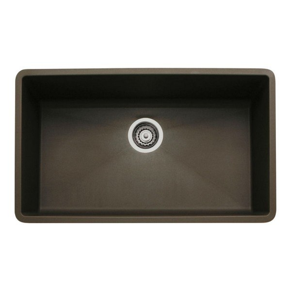 Blanco 440147 Diamond Granite 32 Inch Kitchen Sink in Cafe Brown