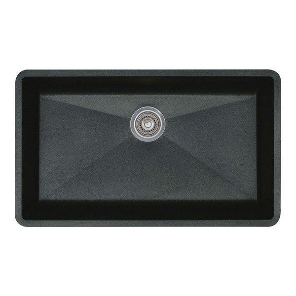 Blanco 440149 Diamond Granite 32 Inch Kitchen Sink in Anthracite