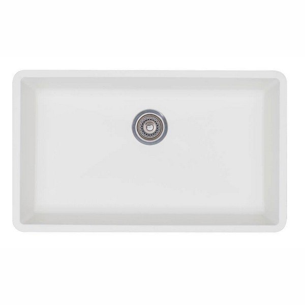 Blanco 440150 Diamond Granite 32 Inch Kitchen Sink in White