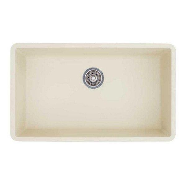 Blanco 440151 Diamond Granite 32 Inch Kitchen Sink in Biscuit