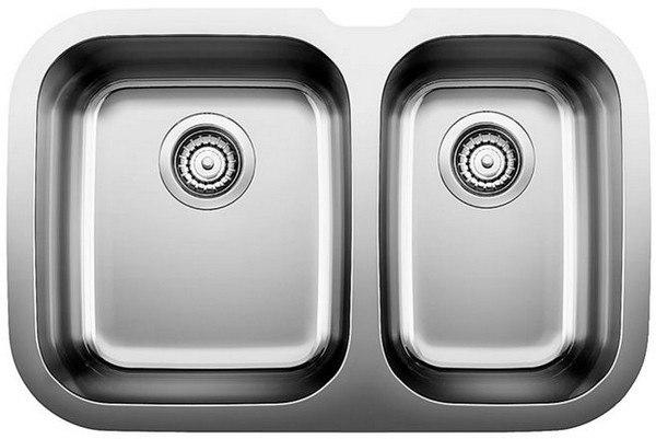 Blanco 440161 Niagara Stainless Steel 27 Inch Kitchen Sink