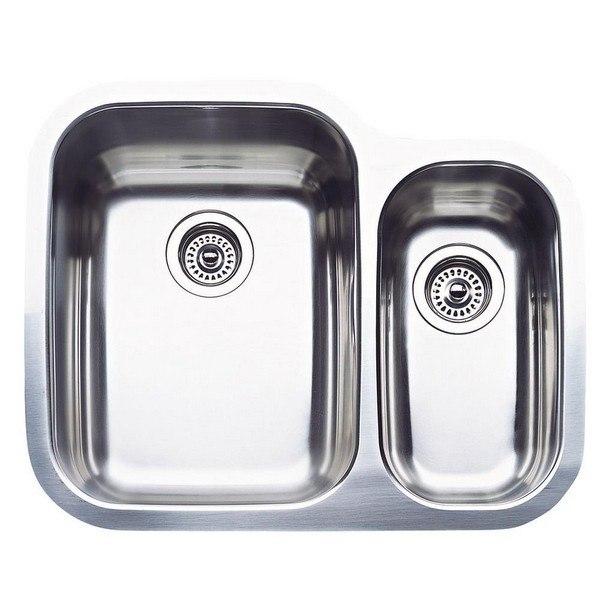 Blanco 440163 Supreme Stainless Steel 25-3/4  Inch Kitchen Sink