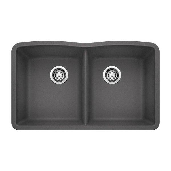 Blanco 440184 Diamond Granite 32 Inch Kitchen Sink in Anthracite
