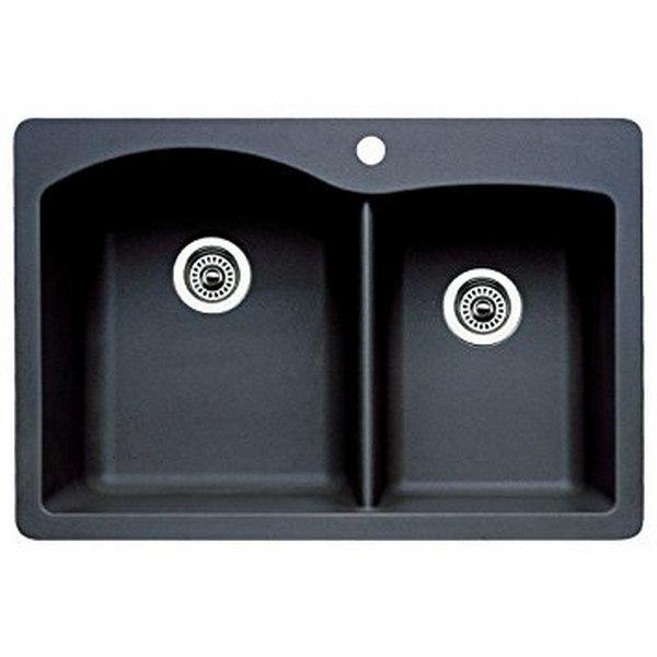 Blanco 440215 Diamond Granite  33 Inch Kitchen Sink in Anthracite