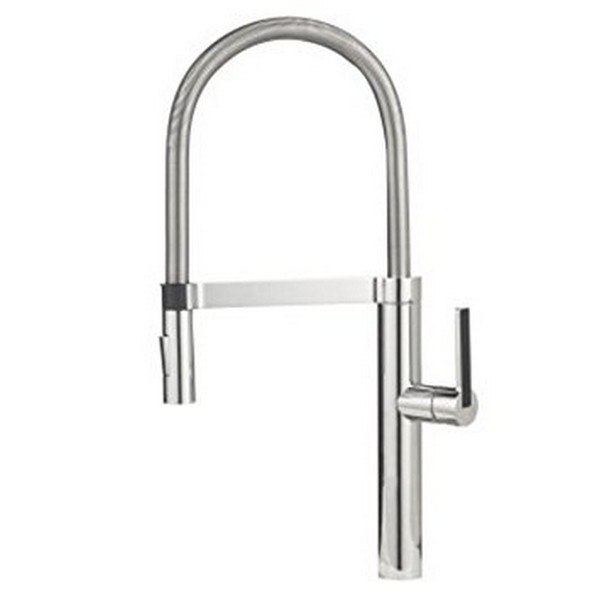 Blanco 441405 Culina Pull-Out, Swivel Single Hole Kitchen Faucet in Polished Chrome