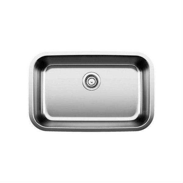 blanco 441529 stellar 28 inch stainless steel kitchen sink 441529 stellar 28 inch stainless steel kitchen sink  rh   kbauthority com