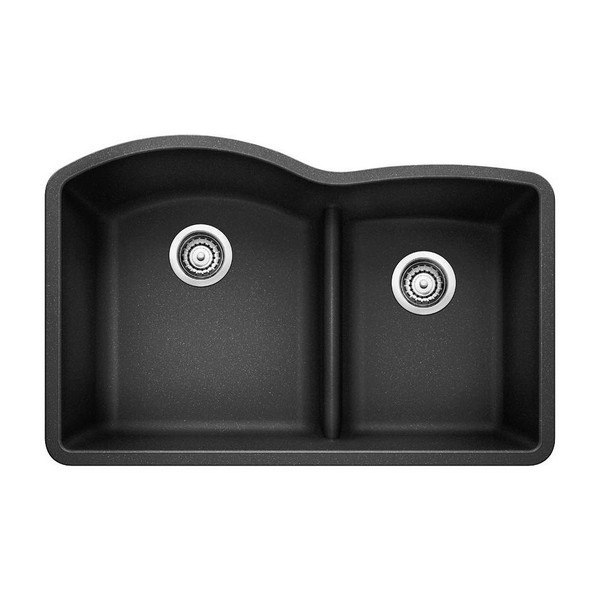 Blanco 441590 Diamond Granite 32 Inch Kitchen Sink in Anthracite