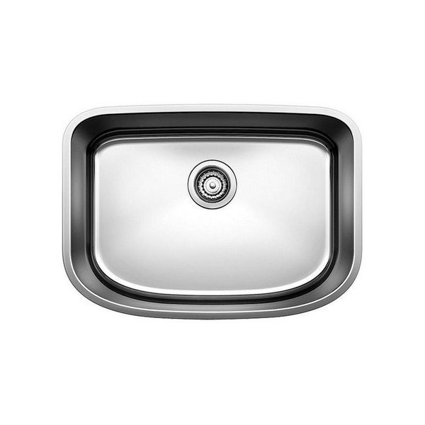 Blanco 441629 One Stainless Steel 25 Inch Kitchen Sink