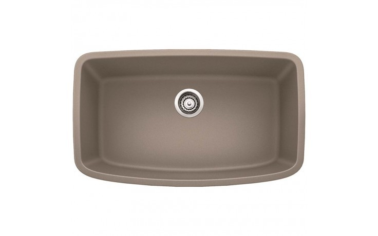 Blanco 441772 Valea Granite Composite 32-1/2 Inch Kitchen Sink in Truffle