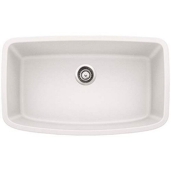 Blanco 441773 Valea Granite 32-1/2 Inch Kitchen Sink in White