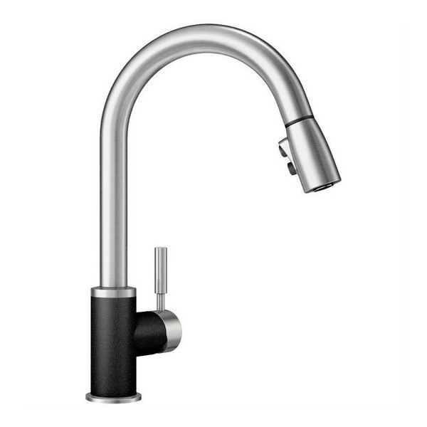 Blanco 442063 Sonoma Pull Down Swivel Single Hole Kitchen Faucet In