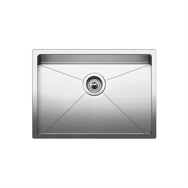 Blanco 519547 Quatrus Stainless Steel 25 Inch Kitchen Sink