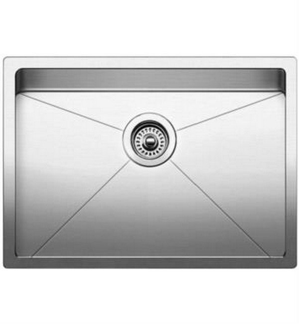 Blanco 521484 Quatrus Stainless Steel 28 Inch Kitchen Sink