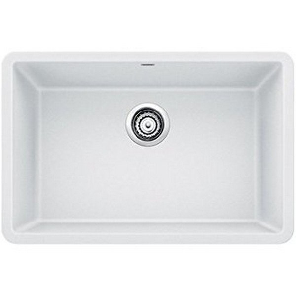 Blanco 522429 Precis Granite 27 Inch Kitchen Sink in White