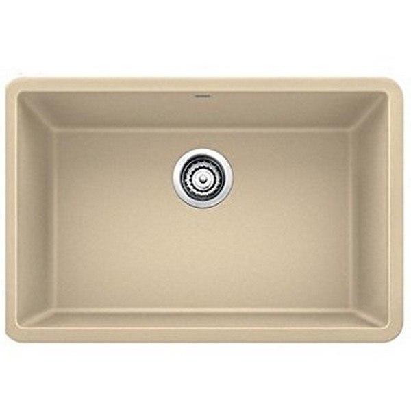 Blanco 522431 Precis Granite 25 Inch Kitchen Sink in Biscotti
