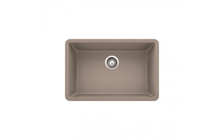 Blanco 522432 Precis Granite 25 Inch Kitchen Sink in Truffle