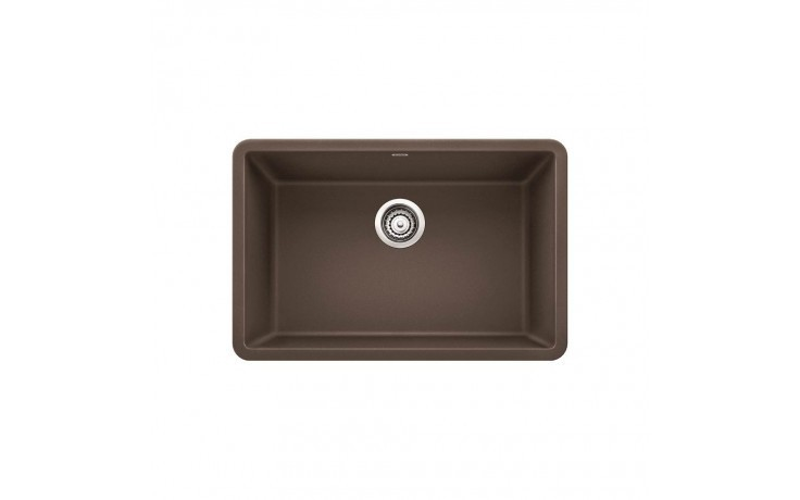 Blanco 522433 Precis Granite 25 Inch Kitchen Sink In Cafe Brown