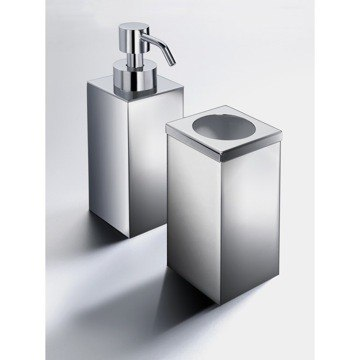 WINDISCH MS100 MINIS SQUARE BATHROOM ACCESSORY SET
