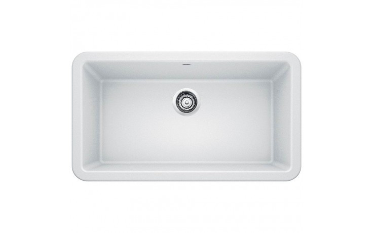 Blanco 401899 Ikon 33 Inch Apron Front Kitchen Sink in White