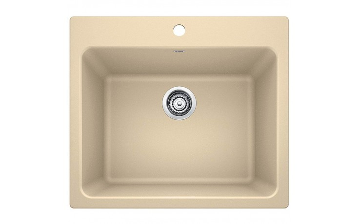 Blanco 401921 Liven 25 Inch Granite Laundry Sink in Biscotti