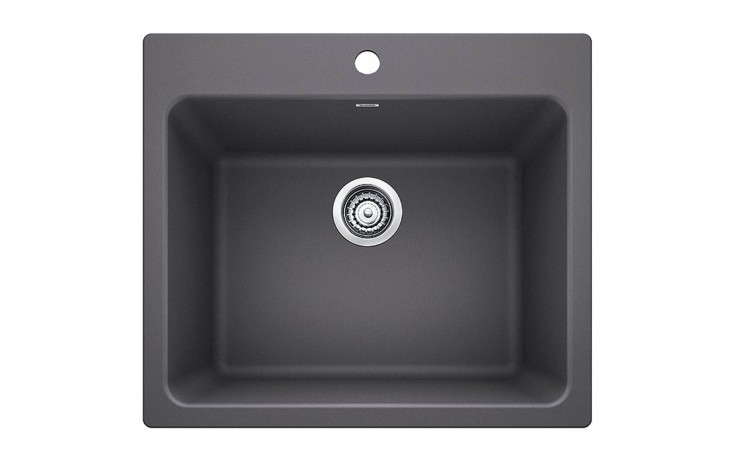 Blanco 401923 Liven Granite 25 Inch Laundry Sink in Cinder