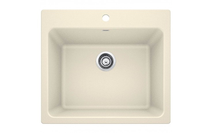 Blanco 401925 Liven Granite 25 Inch Laundry Sink in Biscuit