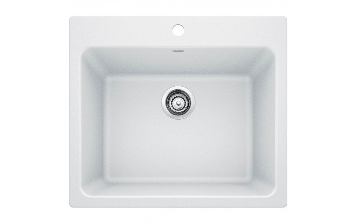 Blanco 401927 Liven Granite 25 Inch Laundry Sink in White