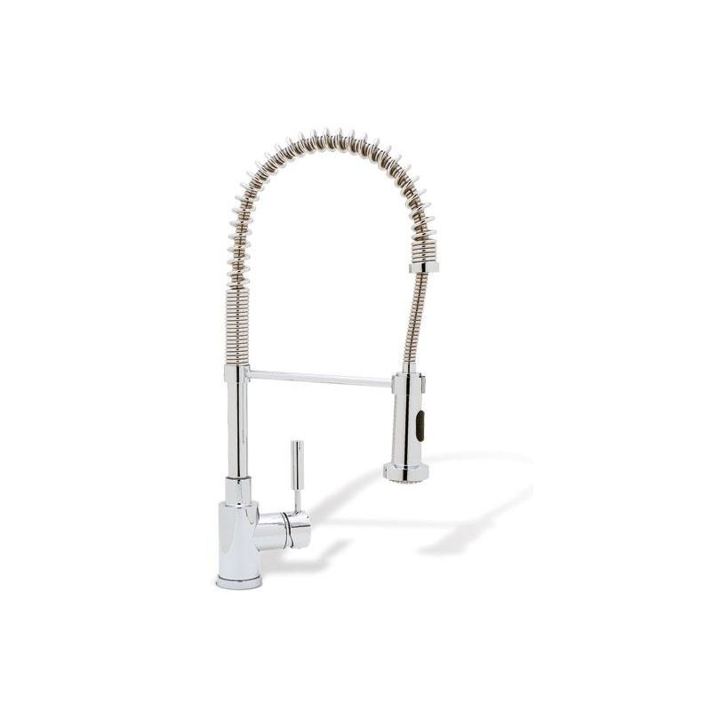 Blanco 440558 Meridian Pull-down, Swivel Single Hole Kitchen Faucet in Polished Chrome