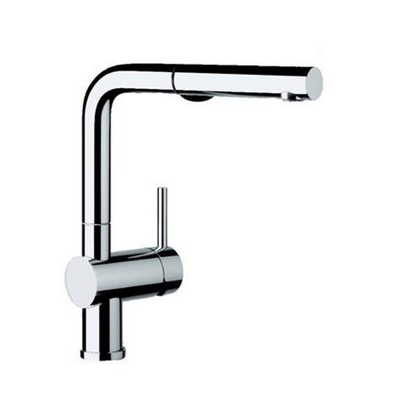 Blanco 441403 Linus Pull-Out, Swivel Single Hole Kitchen Faucet in Polished Chrome