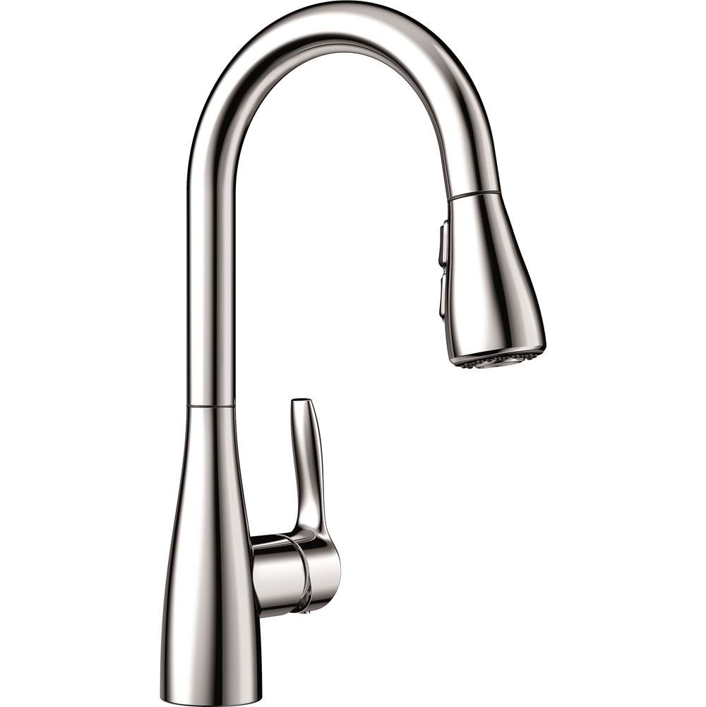 Blanco 442209 Atura High Arch, Pull-Down Single Hole Kitchen Faucet in Chrome