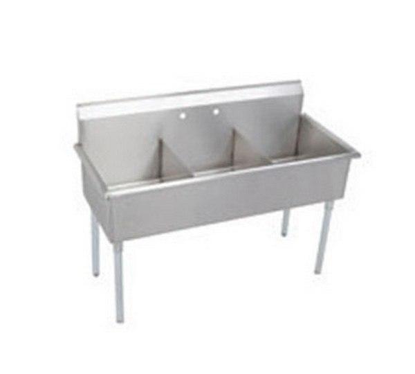Elkay B3C18X21X 57L X 24-1/2 W X 42-3/4 H Single Bowln Utility Sink