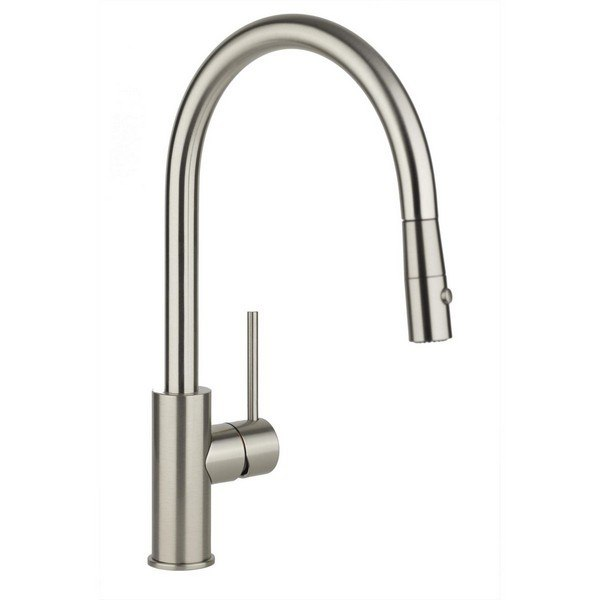 Elkay Lkha2031cr Harmony Single Hole Kitchen Faucet With Pull Down