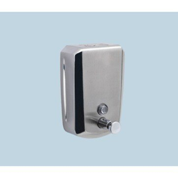 GEDY 2081 DOSATORI WALL MOUNTED STAINLESS STEEL 800 ML COMMERCIAL SOAP DISPENSER